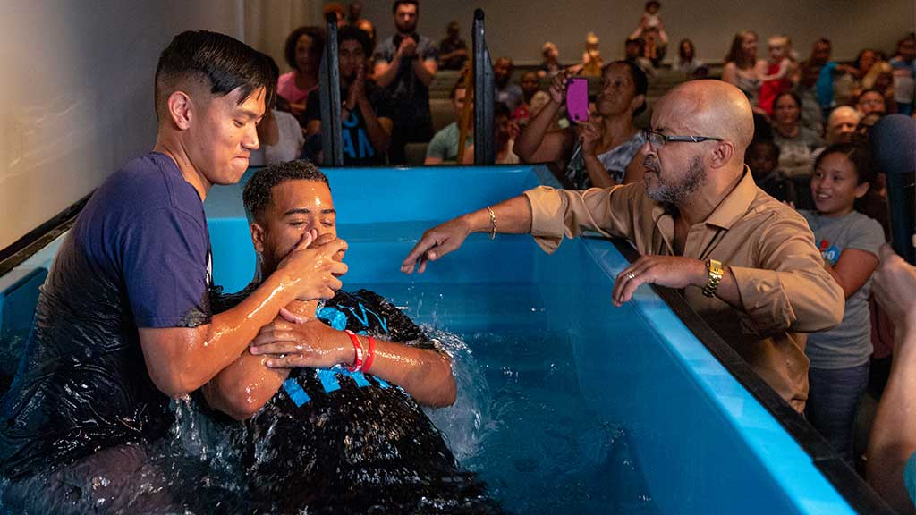 Water Baptism - Frederick